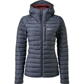 Rab Microlight Alpine Jacket Women, gris